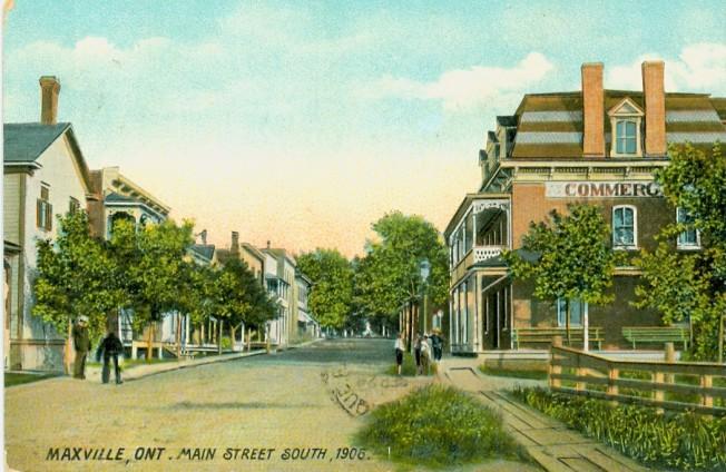 maxville postcard